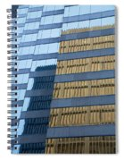 Sky Scraper Tall Building Abstract With Windows And Reflections No.0102 Spiral Notebook