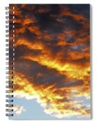 Skyfire Spiral Notebook