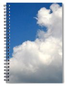 Sleeping Bear Cloud Spiral Notebook