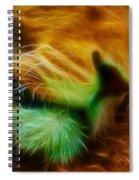 Sleeping Lion 2 Spiral Notebook