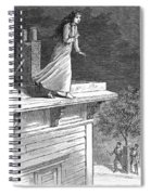 Sleepwalking, 1880 Spiral Notebook