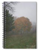 Sleepy Saturday Spiral Notebook