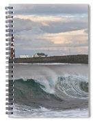 Slettnes Beacon  Spiral Notebook