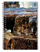 Sliding Water Spiral Notebook