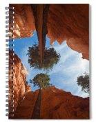 Slot Canyon Spiral Notebook