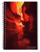 Slots On Fire Spiral Notebook