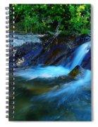 Small Blue Water Spiral Notebook