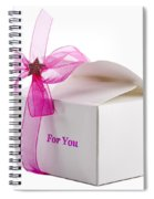 Small Box Of Chocolates Spiral Notebook