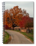 Small Country Road Spiral Notebook
