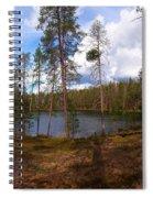 Smaller Huossilampi Spiral Notebook