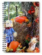 Smile It's Autumn Spiral Notebook