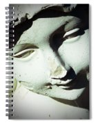 Smile On Her Face Spiral Notebook