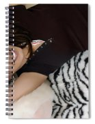Smiles In Pigtails Spiral Notebook