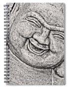 Smiling Buddha Spiral Notebook