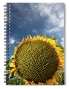 Smiling Face Spiral Notebook