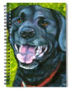 Smiling Lab Spiral Notebook