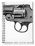 Smith & Wesson Revolver Spiral Notebook