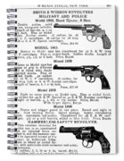 Smith & Wesson Revolvers Spiral Notebook
