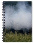Smoke And Steel Spiral Notebook