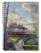 Smoke Drift - Autumn Spiral Notebook