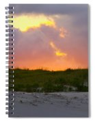 Smoke From A Distant Fire Spiral Notebook