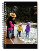 Smokey And The Girls Spiral Notebook