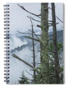 Smokey Mountain Forest No.612 Spiral Notebook