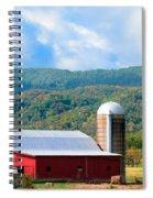 Smokie Mountain Barn Spiral Notebook