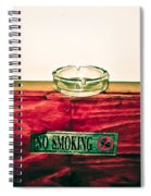 Smoking Mixed Messages Spiral Notebook