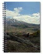Smoking Mountain Spiral Notebook