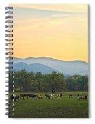 Smoky Mountain Horse Herd Spiral Notebook