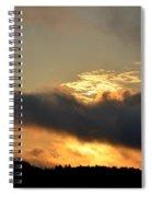 Smoldering Sunrise Spiral Notebook