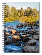 Smooth Rapids Spiral Notebook
