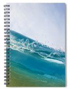 Smooth Wave Spiral Notebook