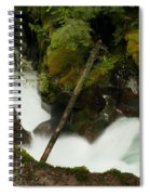 Smoothing The Rocks Spiral Notebook