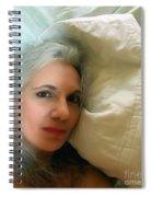 Smudged Lipstick II Spiral Notebook