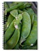 Snap Peas Please Spiral Notebook