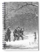 Snaring Rabbits, 1867 Spiral Notebook