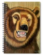 Snarling Grizzly Spiral Notebook