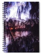 Sneaking Behind The Trees Spiral Notebook