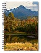 Sneffels Reflections Spiral Notebook