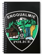 Snoqualmie Police Spiral Notebook