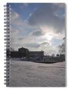 Snow At The Art Museum - Philadelphia Spiral Notebook
