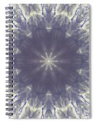 Snow Flake Crystal Spiral Notebook
