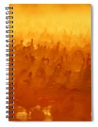 Snow Geese At Sunrise Spiral Notebook