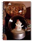 Snow Globes Spiral Notebook