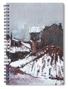 Snow In Elbasan Spiral Notebook