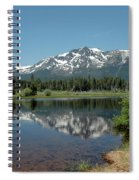 Snow Reflections Mt Tallac Spiral Notebook