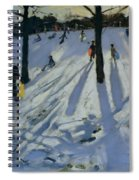 Snow Rykneld Park Derby Spiral Notebook