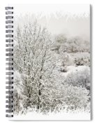 Snow Scene 1 Spiral Notebook